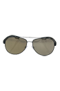 Prada SPS 55Q UFl-1C0 - Green Rubber/Light Brown Dark Gold by Prada for Men - 59-14-140 mm Sunglasses