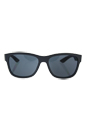 Prada SPS 03Q UFK-5Z1 - Grey/Grey Polarized by Prada for Men - 57-17-145 mm Sunglasses