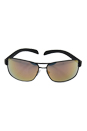 Prada SPS 54I TIG-2D2 - Grey Rubber/Grey Rose Gold by Prada for Men - 65-14-125 mm Sunglasses