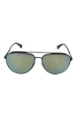 Prada SPS 55R TIG-4J2 - Grey Rubber/Green by Prada for Men - 59-14-140 mm Sunglasses