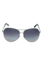 Tom Ford TF35 Charles 753 Silver by Tom Ford for Unisex - 62-12-130 mm Sunglasses