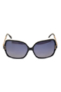 Roberto Cavalli RC648S Injected 6101C by Roberto Cavalli for Unisex - 61-14-135 mm Sunglasses