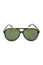 Gucci GG 1026/TVD-Dark Havana/Green by Gucci for Unisex - 59-14-140 mm Sunglasses