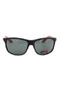 Carrera Carrera 8001 0VHY2 - Rubber Black Polarized by Carrera for Unisex - 61-16-130 mm Sunglasses