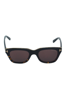 Tom Ford FT0237 Snowdon 05J - Black Havana by Tom Ford for Unisex - 50-21-145 mm Sunglasses