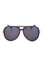 Marc Jacobs MJ 364/S CSABN - Black Palladium /Dark Gray by Marc Jacobs for Unisex - 59-13-135 mm Sunglasses