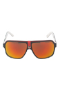 Carrera 33/S 8V4UZ - Black Crystal White by Carrera for Unisex - 62-11-140 mm Sunglasses