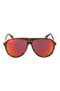 Marc Jacobs MJ 514/S 05LUZ - Havana Red Mirror by Marc Jacobs for Unisex - 60-12-140 mm Sunglasses