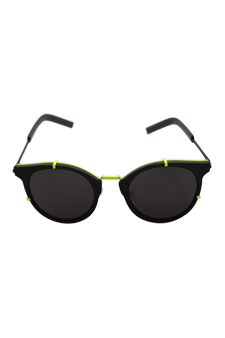 Christian Dior Dior 0196/S TC8Y1 - Black Fluorescent Yellow by Christian Dior for Unisex - 48-22-145 mm Sunglasses