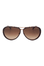 FT0109 28K Cyrille - Rose Gold by Tom Ford for Unisex - 63-10-135 mm Sunglasses