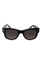 FT0058 01D Cary - Black Polarized by Tom Ford for Unisex - 52-20-140 mm Sunglasses