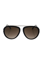 Tom Ford FT0452 Stacy 01K - Black by Tom Ford for Unisex - 57-16-140 mm Sunglasses