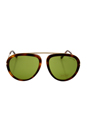 Tom Ford FT0452 Stacy 56N - Brown/Green by Tom Ford for Unisex - 57-16-140 mm Sunglasses