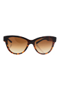 Burberry BE 4206 3559/13 - Tortoise/Brown Gradient by Burberry for Unisex - 55-17-140 mm Sunglasses
