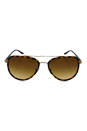 Michael Kors MK 5006 10342L Playa Norte - Gold/Brown by Michael Kors for Unisex - 57-16-135 mm Sunglasses