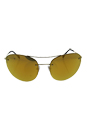 Prada SPS 51R ZVN-5NO - Gold/Orange by Prada for Unisex - 59-18-135 mm Sunglasses