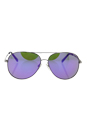 Michael Kors MK 5016 10013R Kendall I - Silver/Purple by Michael Kors for Unisex - 60-12-135 mm Sunglasses