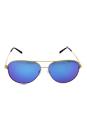 Michael Kors MK 5016 102425 Kendall I - Gold/Turquoise by Michael Kors for Unisex - 60-12-135 mm Sunglasses