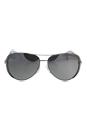 Michael Kors MK 5004 1001Z3 Chelsea - Silver/Silver Polarized by Michael Kors for Unisex - 59-13-135 mm Sunglasses