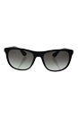 Prada SPR 04S 1AB-0A7 - Black/Grey Gradient by Prada for Unisex - 57-19-145 mm Sunglasses