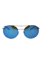 Prada SPS 54R ZVN-5M2 - Pale Gold/Blue by Prada for Unisex - 56-18-135 mm Sunglasses