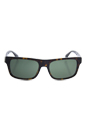 Prada SPR 18P 2AU-0B2 - Dark Havana/Green by Prada for Unisex - 56-18-140 mm Sunglasses