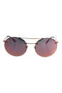 Prada SPS 54R ZVN-5L2 - Pale Gold/Grey Rose Gold by Prada for Unisex - 56-18-135 mm Sunglasses