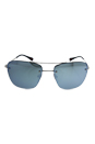 Prada SPS 52R 1BC-5K2 - Silver/Green Silver by Prada for Unisex - 56-16-135 mm Sunglasses