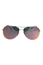 Prada SPS 50R ZVN-5L2 - Pale Gold/Grey Rose Gold by Prada for Unisex - 59-14-135 mm Sunglasses