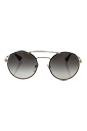 Prada SPR 51S 1AB-0A7 - Black/Grey by Prada for Unisex - 54-22-135 mm Sunglasses