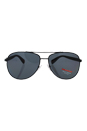 Prada SPS 510 1BO-5Z1 - Black/Grey Polarized by Prada for Unisex - 62-14-135 mm Sunglasses