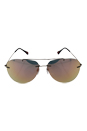 Prada SPS 50P ROU-2D2 - Cocoa Demi Shiny/Gold Pink by Prada for Unisex - 63-13-140 mm Sunglasses
