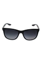 Prada SPS 03O 1AB-5W1 - Black/Grey Gradient Polarized by Prada for Unisex - 55-18-140 mm Sunglasses