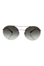 Prada SPS 54R 1BC-0A7 - Silver/Grey Gradient by Prada for Unisex - 56-18-135 mm Sunglasses