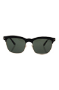 Tom Ford FT0437 05R Elena - Black Gold/Green Polarized by Tom Ford for Unisex - 54-17-135 mm Sunglasses