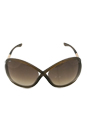 Tom Ford TF9 Whitney 692 Brown by Tom Ford for Women - 64-14-110 mm Sunglasses