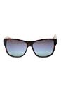 Gucci GG 3579/S 0WQ2 Havanna/Grey/Blue Aqua by Gucci for Women - 58-14-135 mm Sunglasses