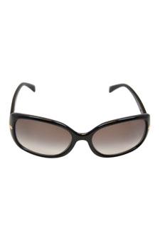 Prada PR 08OS 1AB0A7 Black/Gray by Prada for Women - 57-17-130 mm Sunglasses