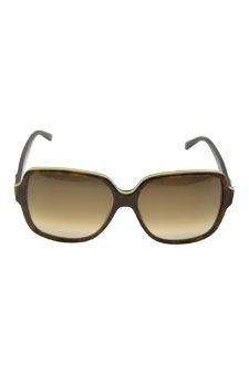 b3f15e27324 GUCCI Sunglasses 3582 S 0LA2 Havana Green 57mm