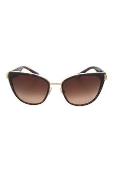 Dolce & Gabbana DG 2107 02/13 - Havana Gold by Dolce & Gabbana for Women - 57-19-135 mm Sunglasses