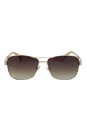 Jimmy Choo Cris/S 0AU2 D8 Red Gold by Jimmy Choo for Women - 57/14/135 mm Sunglasses