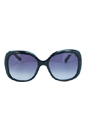 Jimmy Choo Wiley/S 0BMB Shiny Black by Jimmy Choo for Women - 56/18/135 mm Sunglasses