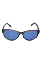 Juicy Couture Juicy 523/S Shiny Black / Blue by Juicy Couture for Women - 57/15/130 mm Sunglasses