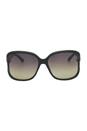 Gucci Gucci 3646/S D28ED Shiny Black by Gucci for Women - 60-16-125 mm Sunglasses