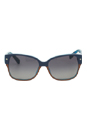 Marc Jacobs MMJ 201/S 0UWL - Blue/Orange by Marc Jacobs for Women - 55-15-130 mm Sunglasses