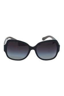 Tory Burch TY 7059 1145/11 - Black/Grey by Tory Burch for Women - 57-16-135 mm Sunglasses