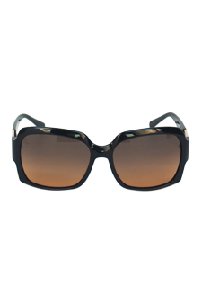 Tory Burch TY 9027 501/95 - Black/Grey Orange Faded by Tory Burch for Women - 59-16-130 mm Sunglasses