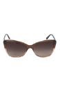 Versace VE 4264-B 5091/13 - Opal Beige/Beige Transp by Versace for Women - 57-16-140 mm Sunglasses