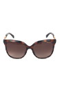 Jimmy Choo BELLA/S AXXJ6 - Dark Havana by Jimmy Choo for Women - 56-16-135 mm Sunglasses