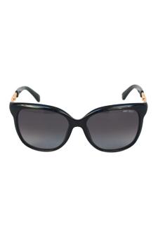 Jimmy Choo BELLA/S BMBHD - Shiny Black by Jimmy Choo for Women - 56-16-135 mm Sunglasses